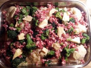 Blumenkohl-Broccoli Auflauf - Rezept