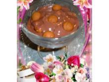 Dessert : Schokopudding mit Hicks - Rezept
