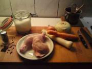 Hühnerbrühe - Rezept