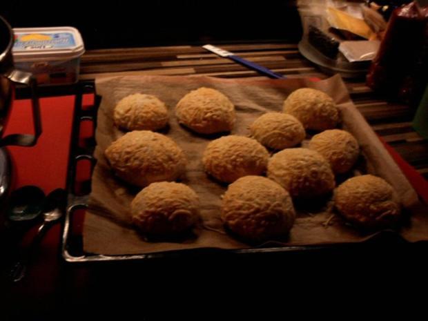 Käsebrötchen Frühstücksbrötchen - Rezept