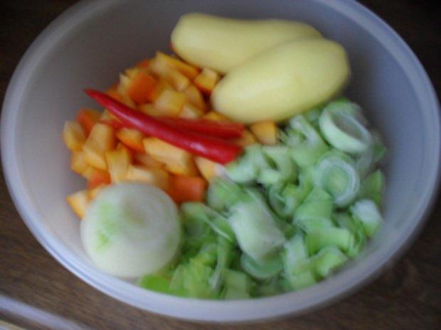 Kürbissuppe mit Lauch - Rezept - Bild Nr. 2