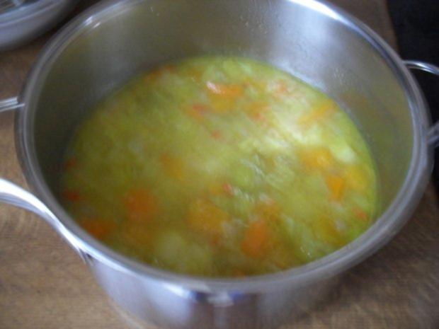 Kürbissuppe mit Lauch - Rezept - Bild Nr. 6
