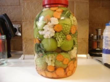 Gemuese Pickles - Rezept