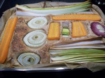 Gemüse - Foccacia - Rezept