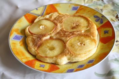 Apfel-Vanille-Pfannkuchen - Rezept