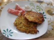 Kartoffel-Zucchini-Puffer - Rezept