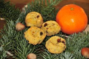 Adventskalender 3. Tag: Engadiner Kekse - Rezept