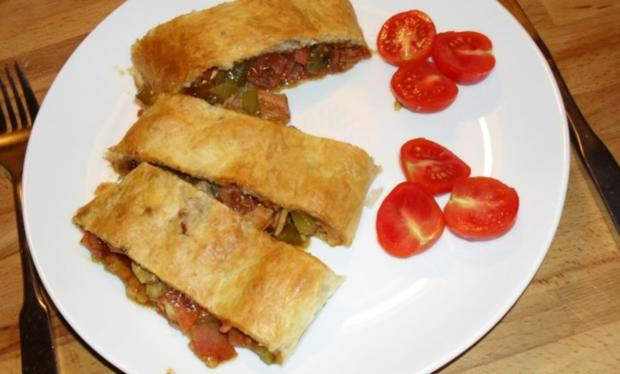 Pizza - Strudel - Rezept - Bild Nr. 2