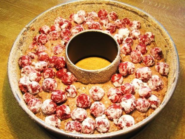 Rotweinkuchen mit Kirschen - Rezept - Bild Nr. 7