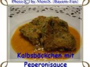 Kalbsbäckchen mit Peperonisauce - Rezept
