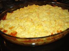 Polenta-Gemüse-Auflauf - Rezept