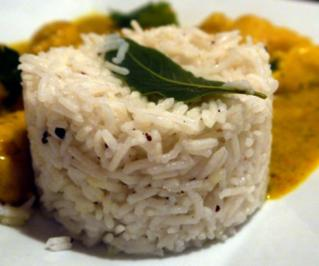 Gewürzter Basmati-Reis - Rezept
