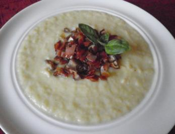 Cremige Lauchsuppe ... - Rezept