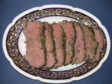 Fleisch: Roastbeef im Kräutermantel mit NT-Methode - Rezept