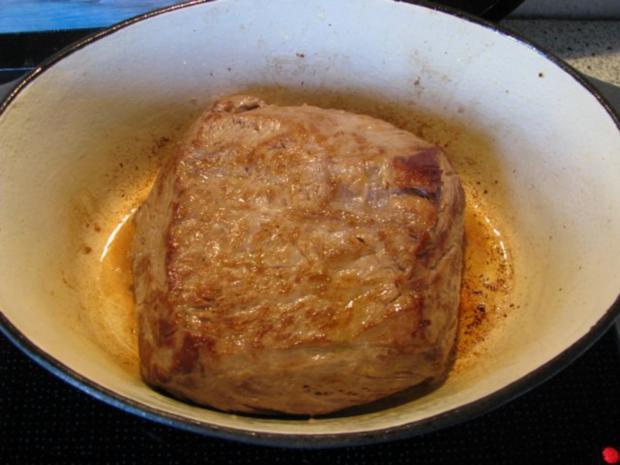 Fleisch: Roastbeef im Kräutermantel mit NT-Methode - Rezept - Bild Nr. 2