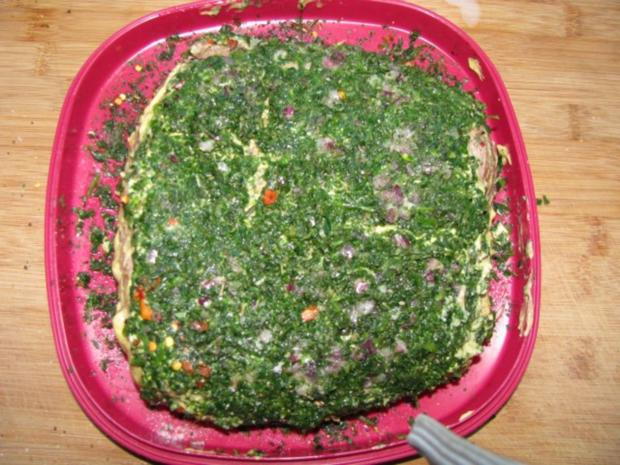 Fleisch: Roastbeef im Kräutermantel mit NT-Methode - Rezept - Bild Nr. 4