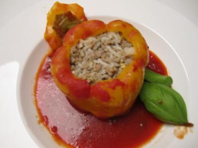 """Gefüllte Paprika """"Tyrolean Style"""" - Rezept"""