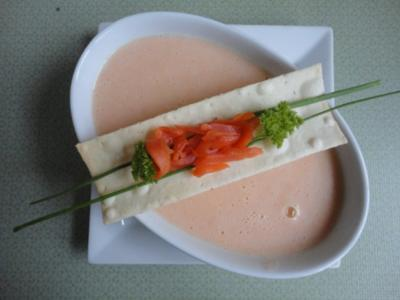 Räucher Lachs - Creme Süppchen - Rezept