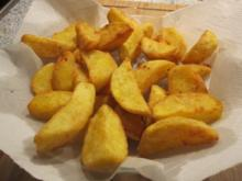Mediterrane Kartoffelspalten - auf meine Art! - Rezept