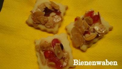 Rezept: Süße Bienenwaben