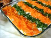 Dreifarbiger Salat - Rezept - Bild Nr. 4