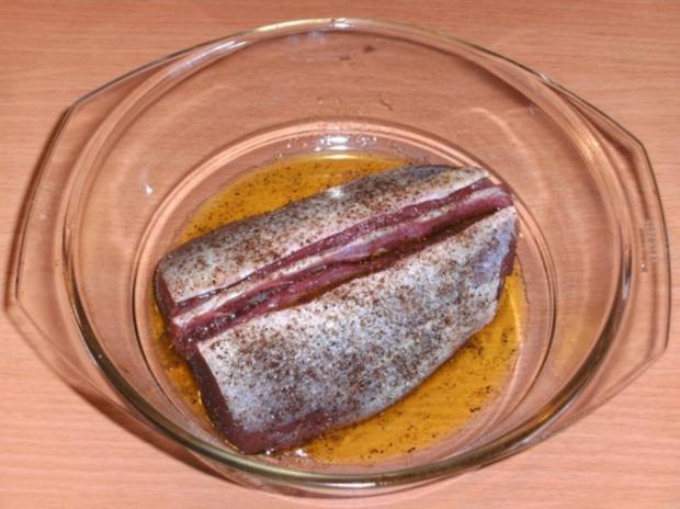 Fleisch: Rehrücken, pikant - Rezept - Bild Nr. 2