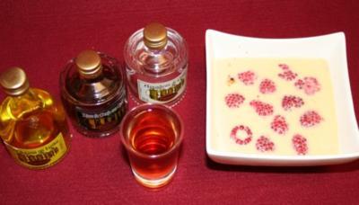 Crema Catalana mit Himbeeren - Rezept