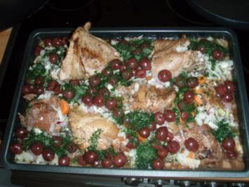 Kaninchen mit Rotwein-Sauerkirsch-Sauce - Rezept
