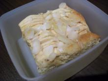 Mandel - Apfel - Kuchen - Rezept