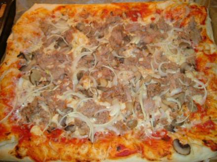 Pizza Teig schnell und lecker! - Rezept