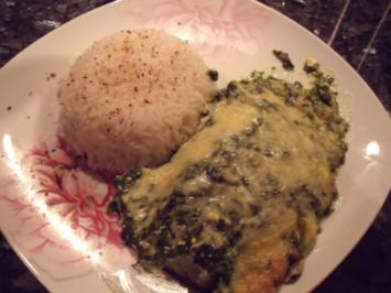 Fisch mit Spinat-Feta-Kruste - Rezept