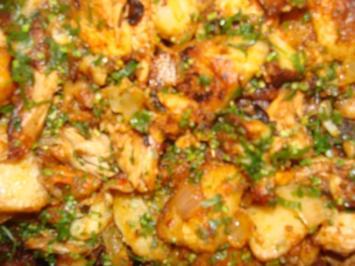 Fleisch : Spanferkel - Gröstl - Rezept
