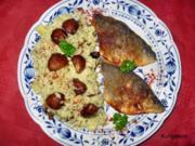 Doradenfilet mit Pilz-Risotto - Rezept