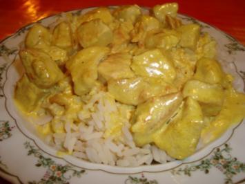 Curry Hähnchen - Rezept