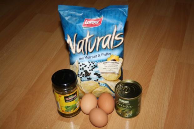 Crunchy scrambled eggs - Rezept - Bild Nr. 2