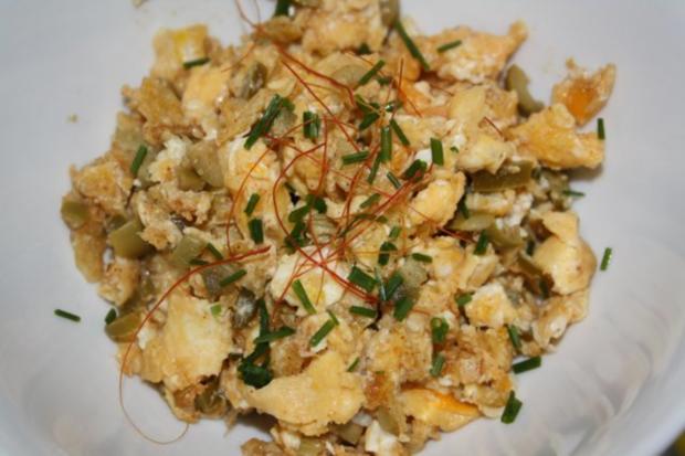Crunchy scrambled eggs - Rezept