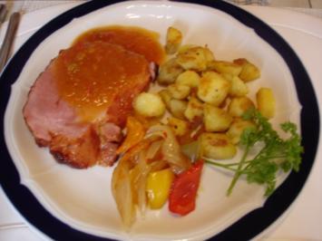 Kasseler mit Honig-Chili-Kruste - Rezept