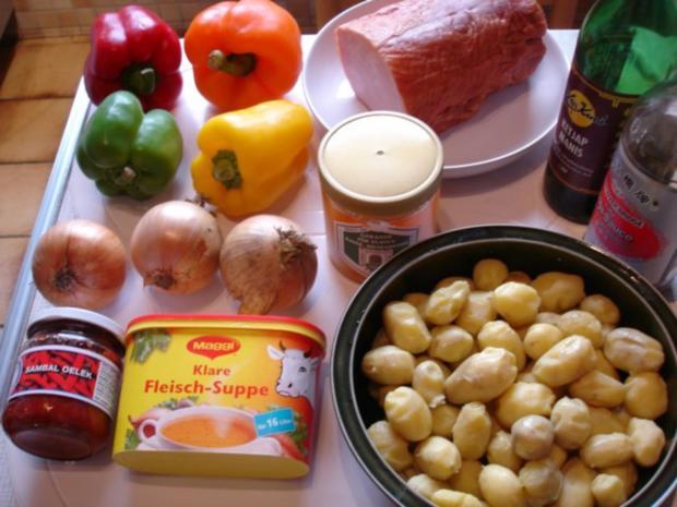 Kasseler mit Honig-Chili-Kruste - Rezept - Bild Nr. 2