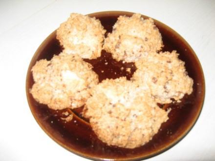 Kokosmakronen mit Schokostückchen - Rezept