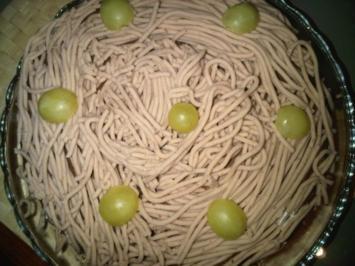 Vermicelles-torte - Rezept