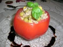 gefüllte Tomaten, eine leichte, leckere Vorspeise - Rezept