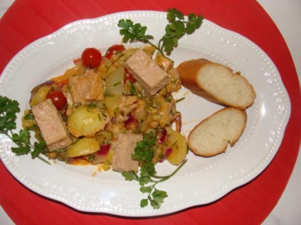 Salat : Weißer Thunfisch of Senegal - Rezept