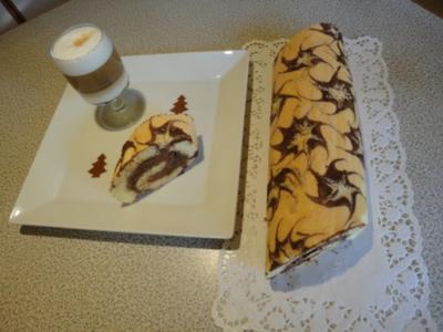 Sternchen-Roulade - Rezept