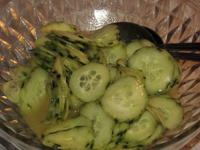Gurkensalat süss-sauer - Rezept - Bild Nr. 13