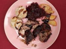 Schweinebraten mit Honigkruste - Besoffene süße Sau (Sandra Steffl) - Rezept