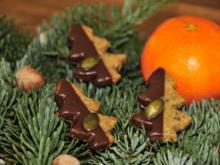 Adventskalender 9. Tag: Kürbis-Schoko-Bäumchen - Rezept