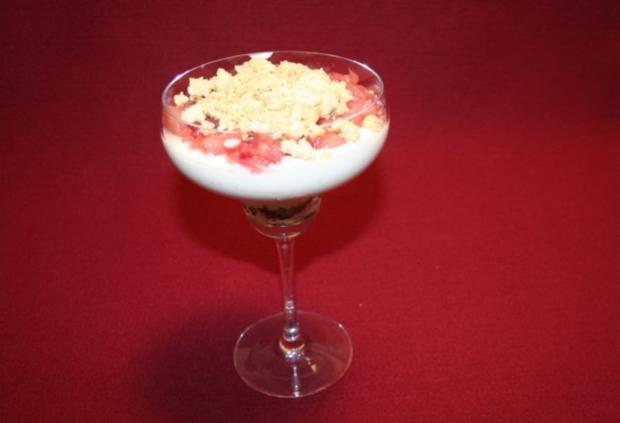 Rooibos-Tee-Crème im Glas - Rezept
