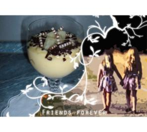 Dessert : Freundschafts- Becher.....Cookies - SCHNEEROSE - Rezept