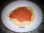 Kochen: Tomatensauce zu Spaghetti - Rezept