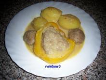 Kochen: Gefüllte Paprikaschoten - Rezept